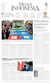 Cover Media Indonesia 13 Juni 2019