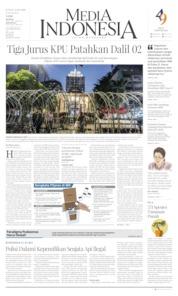 Cover Media Indonesia 14 Juni 2019