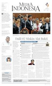 Cover Media Indonesia 15 Juni 2019
