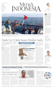 Media Indonesia Cover 18 June 2019