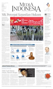 Cover Media Indonesia 25 Juni 2019