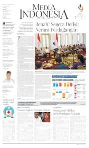 Cover Media Indonesia 09 Juli 2019