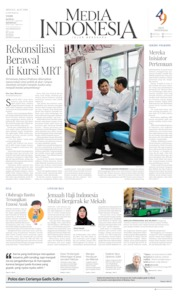 Cover Media Indonesia 14 Juli 2019