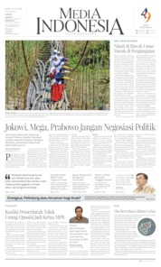 Cover Media Indonesia 24 Juli 2019