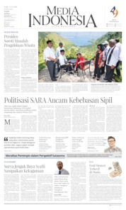Media Indonesia Cover 31 July 2019