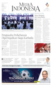 Media Indonesia Cover 02 August 2019