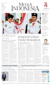 Media Indonesia Cover 16 August 2019