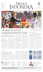 Media Indonesia Cover 18 August 2019