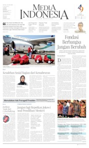 Media Indonesia Cover 19 August 2019
