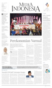 Media Indonesia Cover 21 August 2019