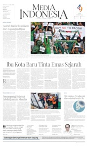 Media Indonesia Cover 25 August 2019