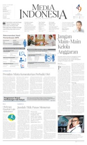 Cover Media Indonesia 20 September 2019