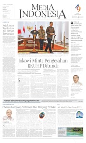 Cover Media Indonesia 21 September 2019