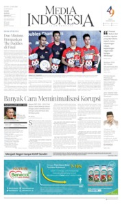 Cover Media Indonesia 23 September 2019