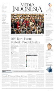 Cover Media Indonesia 01 Oktober 2019