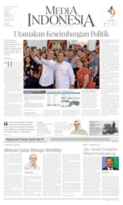 Cover Media Indonesia 12 Oktober 2019