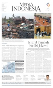 Media Indonesia Cover 13 October 2019