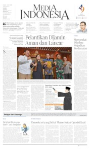Media Indonesia Cover 16 October 2019