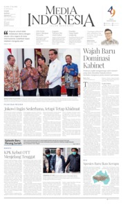 Media Indonesia Cover 17 October 2019