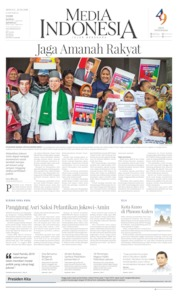 Media Indonesia Cover 20 October 2019