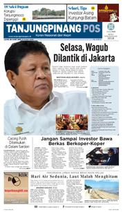 Cover Tanjungpinang Pos 23 Maret 2018