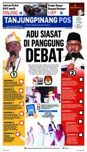 Cover Tanjungpinang Pos 24 April 2018