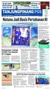 Cover Tanjungpinang Pos 25 April 2018