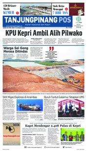 Cover Tanjungpinang Pos 26 April 2018