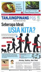 Cover Tanjungpinang Pos 27 Mei 2018