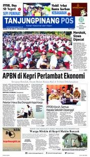 Cover Tanjungpinang Pos 17 Juli 2018