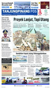 Cover Tanjungpinang Pos 21 Agustus 2018