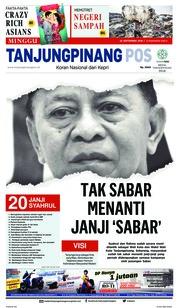 Cover Tanjungpinang Pos 23 September 2018