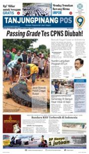 Cover Tanjungpinang Pos