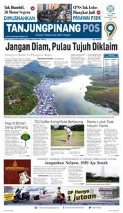 Cover Tanjungpinang Pos 24 November 2018
