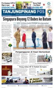 Cover Tanjungpinang Pos 28 November 2018