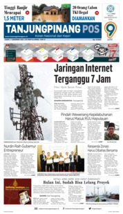 Cover Tanjungpinang Pos 07 Desember 2018