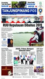 Cover Tanjungpinang Pos 08 Desember 2018