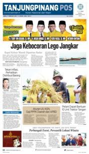 Cover Tanjungpinang Pos 11 Februari 2019