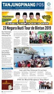 Cover Tanjungpinang Pos 13 Februari 2019