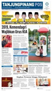 Cover Tanjungpinang Pos 14 Februari 2019