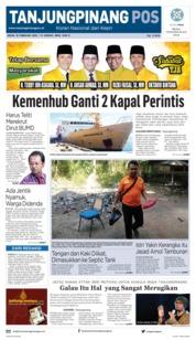 Cover Tanjungpinang Pos 18 Februari 2019