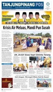Tanjungpinang Pos Cover 26 March 2019