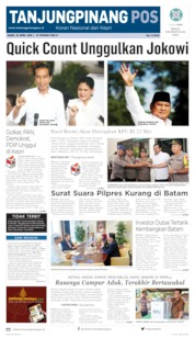 Tanjungpinang Pos Cover
