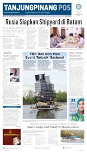 Tanjungpinang Pos Cover 25 April 2019
