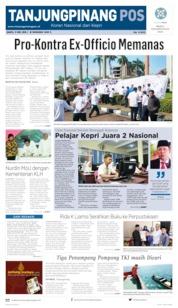 Cover Tanjungpinang Pos 11 Mei 2019