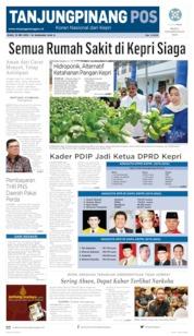 Tanjungpinang Pos Cover 15 May 2019