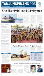 Tanjungpinang Pos Cover 16 May 2019