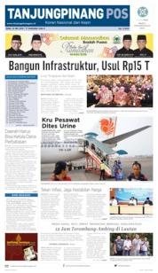 Tanjungpinang Pos Cover 22 May 2019