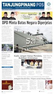 Tanjungpinang Pos Cover 23 May 2019