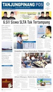 Tanjungpinang Pos Cover 24 May 2019
